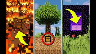 100 Ways To Hide a Chest In Minecraft