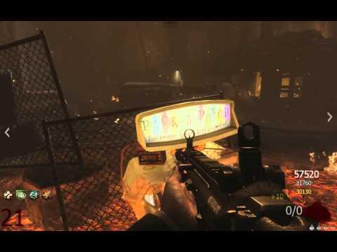 Call of duty: Black Ops 2 Зомби-режим. Забег в городе c хорошими игроками :)