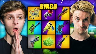 EXTREME BINGO #3 | Fortnite Mini-Game ft. LinkTijger