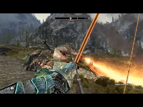 How to kill a Dragon: Meaty style (Skyrim)
