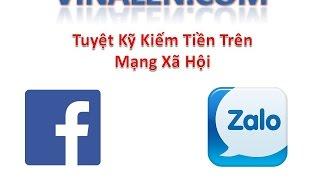 Cách kiếm 5 đến 10tr/tháng trên Facebook