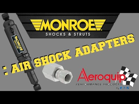 Monroe Air Shock Adapter to 1/4