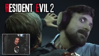 STREAMERS REACT TO RESIDENT EVIL 2 REMAKE - Scary/ Funny Moments!