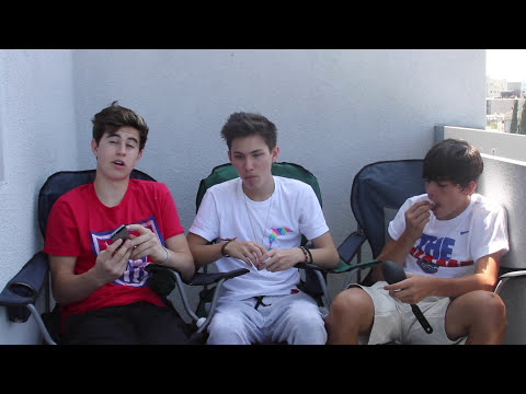 COTTON BALL CHALLENGE | Carter Reynolds, Nash Grier, and Hayes Grier