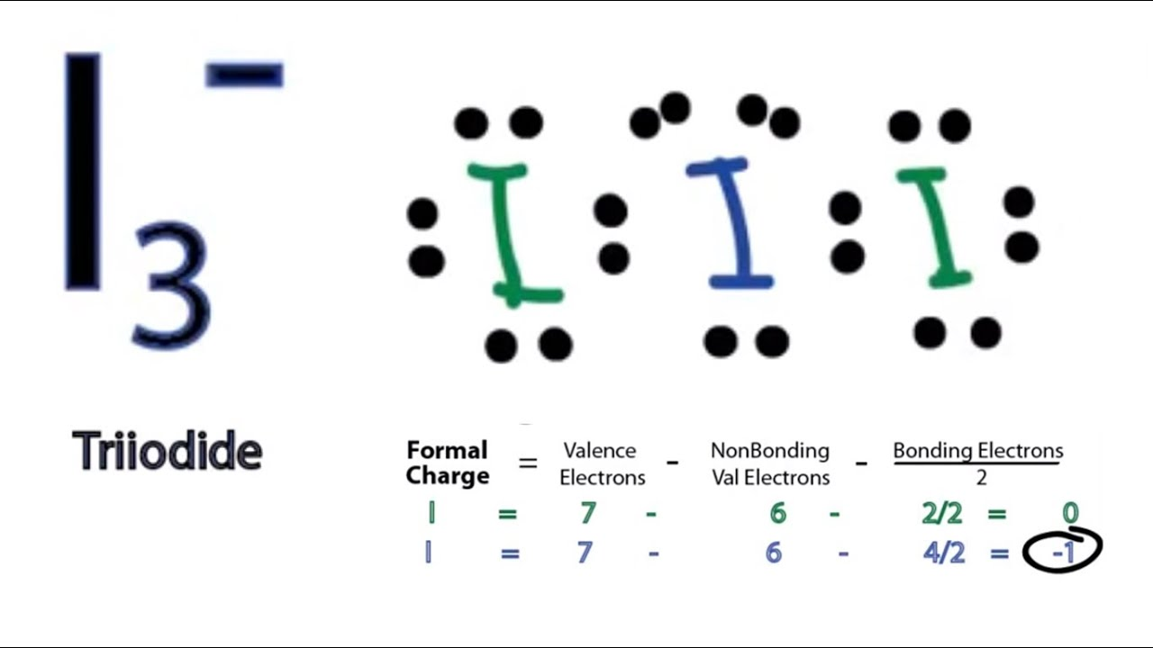 I3 Lewis Structure How To Draw The Lewis Structure For