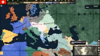 Hearts of Iron 3 Timelapse - World War One