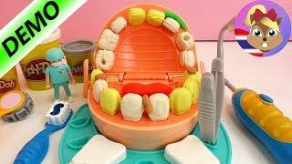 รีวิวของเล่นเพลย์โด คุณหมอฟัน ทำฟันปลอมสีทอง | ชวนเล่น ชุดคุณหมอฟัน ถอน, อุด, ใส่ฟันปลอม สนุกสุดๆ