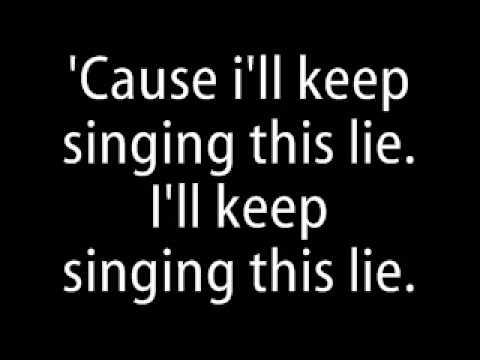 Fall Out Boy - Sophomore Slump Lyrics