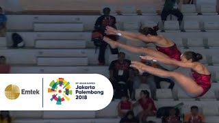 Highlight Women's Synchronised 10m Platform | Gempita Asian Games 2018