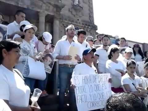Ocotlan Jalisco. Peticiones a los tres poderes de gobierno