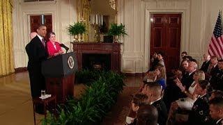 PRESIDENT OBAMA Speaks at a Naturalization Ceremony  (obama)  3/25/13
