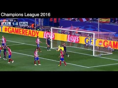 Gol de Saul Ñigo vs Bayern Munich, Atlético de Madrid 1 - 0 Bayern Munich, Semifinales UCL 2016.