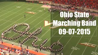 "Ohio State Marching Band ""Classical Finale""- Halftime Show vs. Virginia Tech 9-07-2015"