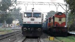 Mumbai-Chennai Express departs from Khadki!