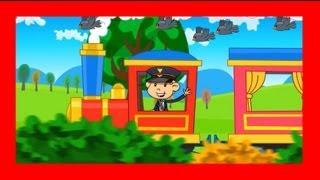 Piosenki dla dzieci Jedzie pociąg z daleka BZYK.tv