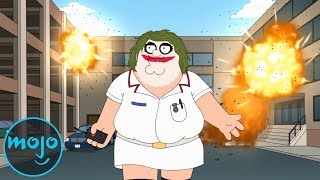 Top 10 Reasons Peter Griffin Should Be in Prison