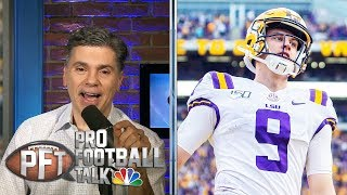 Bengals shouldn't hesitate to draft Joe Burrow at No. 1 | Pro Football Talk | NBC Sports