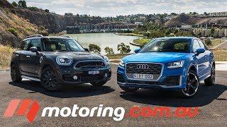 2017 MINI Countryman Cooper S v Audi Q2 Comparison | motoring.com.au