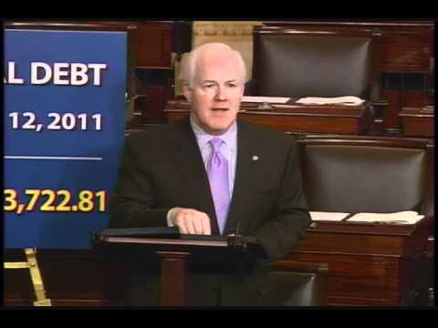 Floor Speech - Sen. Cornyn: We Need a Strong Balanced Budget Amdt - 12/13/11