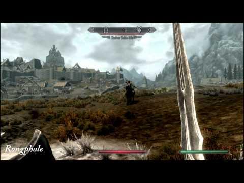 TES V: Skyrim - NPC mounted combat GamePlay (new artificial intelligence mod)