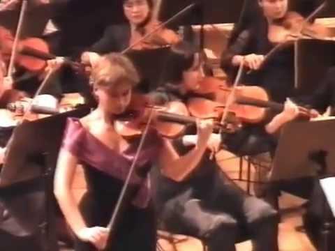 Ариадна Анчевская - Иоганнес Брамс Концерт для скрипки с оркестром D-dur ,op.77.