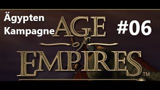 Age of Empires 1 - Ägypten Kampagne #06 [1997 Original Version/Deutsch/Gameplay]