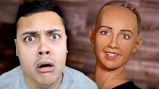 REACTING TO THE SCARIEST ROBOTS THEY WILL TAKE OVER THE WORLD