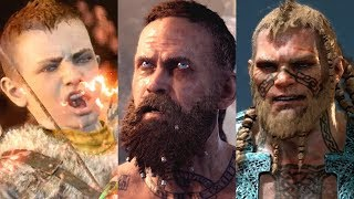 God of War PS4 - All Bosses & Ending