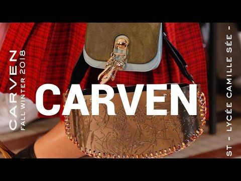 Тренды Осень-Зима 2017-18   New Collection CARVEN F/W 2017-18   Модный блоггер