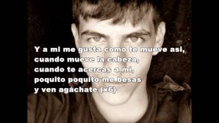 Danny Romero agachate con letra