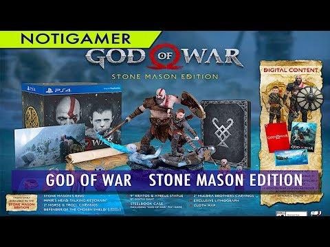 GOD OF WAR   Stone Mason Edition anunciado  - Notigamer thumbnail