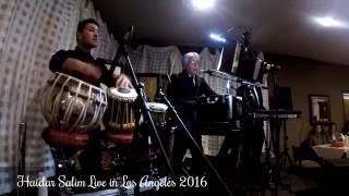 Haidar Salim Live in Concert- Los Angeles-Part 2