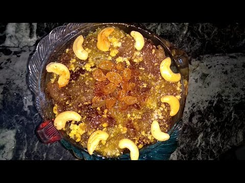 బ్రెడ్ హల్వా|Bread halwa recipe in telugu by Anu's cooking chamber