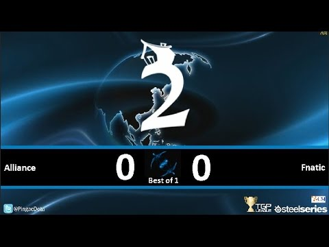 Dota2 - Fnatic vs Alliance [SUMMIT2] Caster Pingac