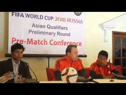 2018 FIFA World Cup Qualifiers: Nepal Vs India Second Leg Match Pre- Match Conference By:GoalNepal