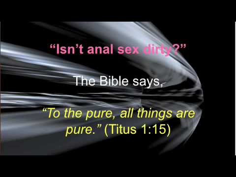 Your Wives Are Your Tilth-anal Sex And The Bible video