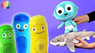 Baby Shark Song With Color Crew Toys   Baby Songs & Nursery Rhymes For Children By BabyFirst