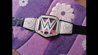How to make WWE World Heavyweight Championship belt