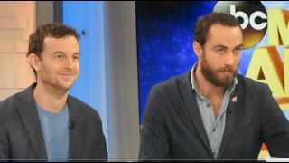 Royal Kate Middleton's Brother James Middleton on Good Morning America promoting Boomf