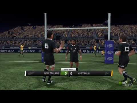 Rugby Challenge 2 - All Blacks vs. Wallabies Gameplay [HD]