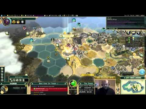 Civilization 5 Multiplayer 150: Assyria [4/4] ( BNW 8 Player Free For All) Gameplay/Commentary