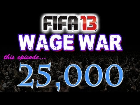 FIFA 13 Ultimate Team - WAGER MATCHES - 25,000 Coin Wager Episode 4