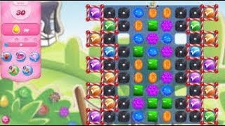 Candy Crush Saga Level 3416 No Boosters