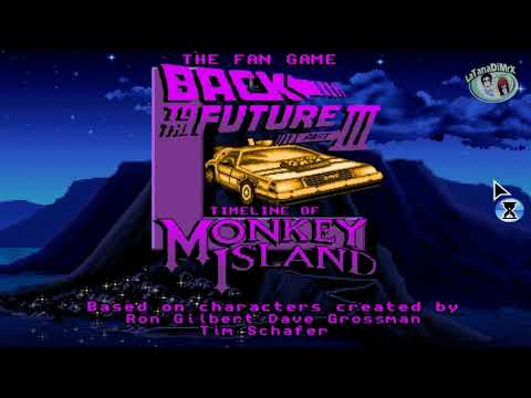 The Fan Game - Back To The Future Part III: Timeline Of Monkey Island Demo [HD]