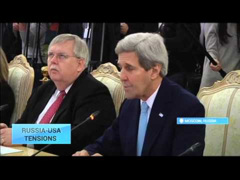 Russia-US Tensions: Russian Foreign Minister Lavrov holds talks with Kerry on Syria, Ukraine