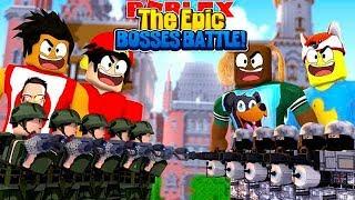 ROBLOX - EPIC TOWER BOSS BATTLES!!!