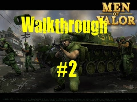 Men Of Valor Walkthrough w/AsianSinper4 Part 2