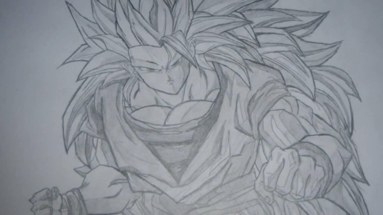 Goku Super Saiyan 5 Drawings Drawing of Goku Super Saiyan 3