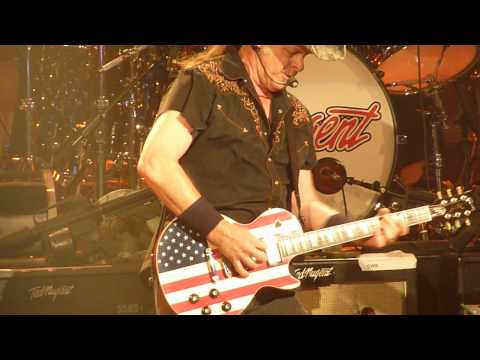 Ted Nugent - Wang Dang Sweet Puntang Live at The Chance in Poughkeepsie, NY 7-31-12