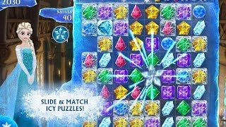 Frozen Free Fall (Disney) Android & iPhone / iPad GamePlay
